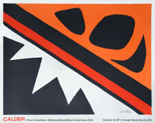 Alexander CALDER (1898-1976) Lithographie Lithograph / La grenouille & Cie, 1971