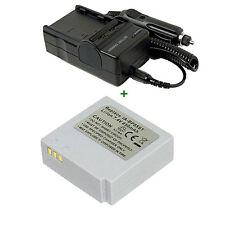 Battery + Charger For IA-BP85ST SAMSUNG Lithium-ion SC-MX20EL SCMX20EL MX20EL