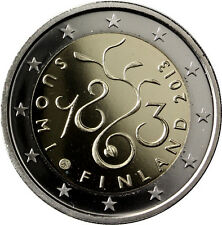 """Finland 2 Euro Proof Coin 2013 - """"The Diet of 1863"""""""