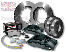 "FITS ESCORT COSWORTH 4X4 18""WHEEL - 6 POT CALLIPERS (PR6) 350x32mm BIG BRAKE KIT"