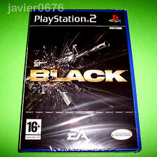 Black (completo) PAL España Sony PlayStation 2 PS2