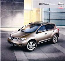 2010 10 Nissan Murano  original sales brochure Mint