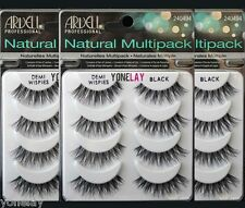 Ardell Natural Multipack False Eyelashes 4 Pairs Black Demi Wispies