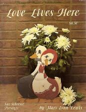 Mary Lynn Lewis : LOVE LIVES HERE Painting Book OOPS!