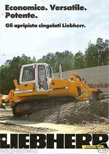 Equipment Brochure - Liebherr - Pr Crawler Dozer Product Overview 1999 (Eb949)