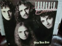 Faragher Brothers Open Your Eyes LP white label promo