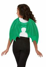 Green Fierce Classic Dragon Wings Fancy Dress Costume Book Week Accessory