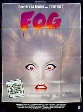 FOG 1979 John Carpenter Adrienne Barbeau, Hal Holbrook Janet Leigh FRENCH POSTER