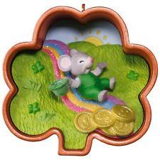Hallmark 2017 ~ Leprechaun, Cookie Cutter Mouse! 2ND in Series Ornament
