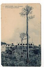 MADAGASCAR DIEGO SUAREZ le camp d'Anosiravo sur la montagne des français