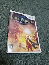 Fire Emblem: Radiant Dawn (Nintendo Wii, 2007) CIB