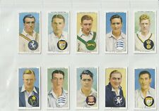 "Full set of 50 cigarette cards 1938 John Player Set ""Cricketers 1938"""