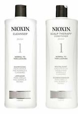 Nioxin System 1 Cleanser Shampoo & Scalp Therapy Conditioner