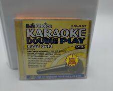 New Sealed DJ's Choice Karaoke Double Play Solid Gold 2 CD G Set 60's  70's