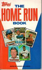 1981 The Topps Home Run Book,Edited by Zander Hollander,Hank Aaron Mickey Mantle