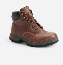Nib Wolverine Steel Toe Brown Leather Boots 84913, Size 13M