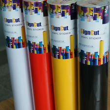 "6 Rolls Vinyl Roll 24"" x 9 yards Sign Plotter Cuttering Vinyl Sticker Decal"
