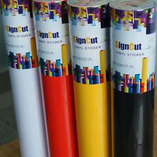9 Rolls 24 X 9 Yards Vinyls For Sign Plotter Cuttering Vinyl Sticker Decal