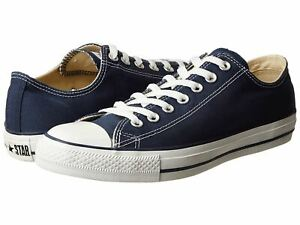 Converse All Star Chuck Taylor Lo Top Canvas Mens Womens Shoes Navy (Blue) M9697