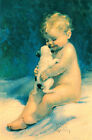 Chums by Bessie Pease Gutmann (Art Print of Vintage Art)