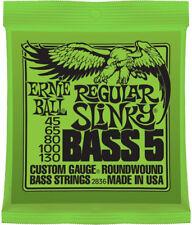 Ernie Ball 5-string Regular Slinky Bass Guitar Strings 2836