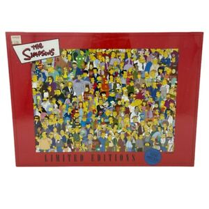 The Simpsons 1000 Piece Jigsaw Puzzle Limited Ed~New~Sealed~RARE 2001