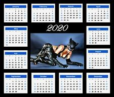2020 Calendar With Halle Berry Catwoman Mouse Mat