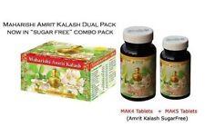 "2x MAHARISHI AMRIT KALASH MAK 4&5 Combo Pack - ""Sugar Free"" MAK4 + MAK5 Tablets"