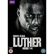 Luther - Series 1-4 DVD 2016 Crime Drama Region 2