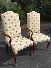 BOB TIMBERLAKE UPHOLSTERED  CHAIR W/ARMS LEXINGTON RARE REVOLUTIONARYDRUM FABRIC