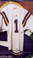 WARREN MOON #1 MINNESOTA VIKINGS GAME JERSEY 1990'S SIZE 44-48
