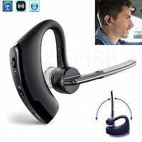 Universal Wireless Bluetooth Headset Headphone Earpiece For Car Truck Drivers