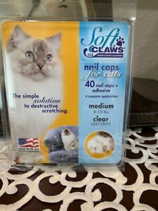 SOFT CLAWS-NAIL CAPS FOR CATS-MEDIUM-BRAND NEW