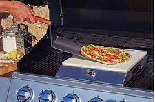 Pizza Stone Oven Set Cooker Baking Barbeque BBQ Warmer Cooking Paddle Bake ware