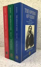BUDDEN Operas of VERDI 3 Volumes [complete] REVISED EDITION Oxford Paperback