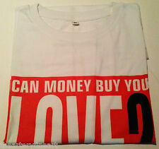 BARBARA KRUGER Can Money Buy You Love? Artist's German Exhibition T-Shirt M NEW!