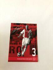 Spelerskaart Topspieler Ajax Jaap Stam Manchester Utd