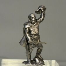 Tin Toy Soldier Assembled Unpainted Barbarian leader 54mm 1/32 Miniature