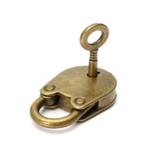 Vintage Antique Style Mini Padlocks Key Lock With Key FM