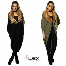 Polyester 3/4 Sleeve Poncho Jumpers & Cardigans for Women
