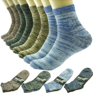 3-12 Pairs Men Ankle Quarter Crew Socks Casual Thin Galaxy Cotton Stretch 10-13