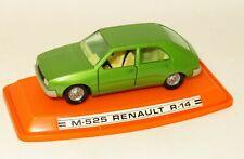 Pilen 1/43 Made in Spain 1970`s - Renault R 14   Green  ( M-525 )