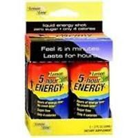 5 Hour Energy Shot - Lemon Lime, 2x2 Oz (3 Pack)