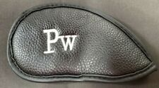 IRON HEADCOVER BLACK - WHITE FOR PITCHING WEDGE