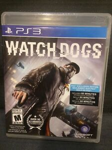 Watch Dogs Watchdogs (Sony PlayStation 3, 2014) PS3 Video Game