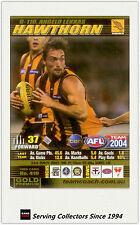 2004 AFL Teamcoach Gold Trading Card G110 Angelo Lekkas (Hawthorn)