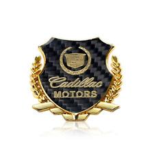 Gold Cadillac Car Body Fender Rear Emblem for Cadillac ATS CTS CT5 CT6 XTS SRX