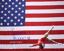 "Simone Biles legendary Rio Olympic 2016 Gymnast Reprint Signed 11x14"" Poster #3"