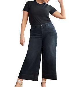 Warp + Weft | ICN - Wide Leg Jeans | Black