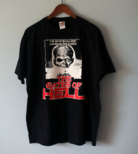 Vintage THE GATES OF HELL/CITY OF THE LIVING DEAD 1980 Tee T Shirt Halloween XL
